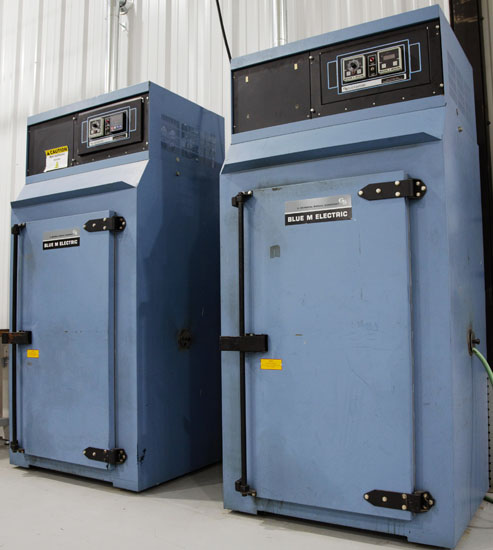Post Cure Ovens